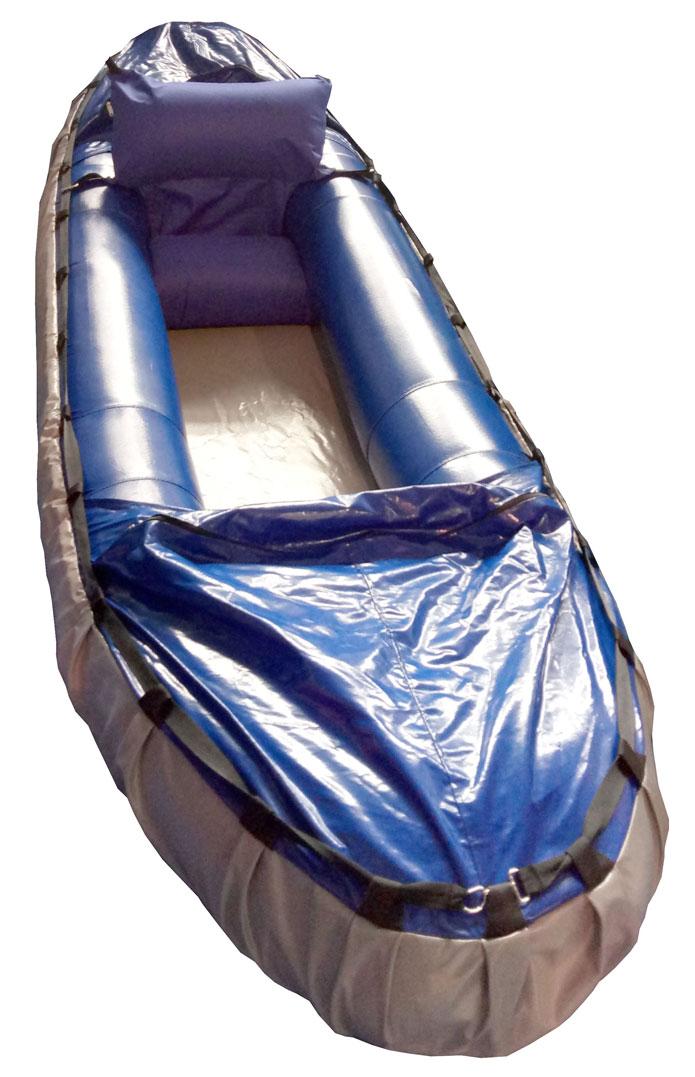 Байдарка надувная для пешеводного туризма
